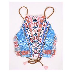 Altar'd State - Maya Halter Bikini Top